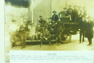Crozet Fire Department 1915 - 1920